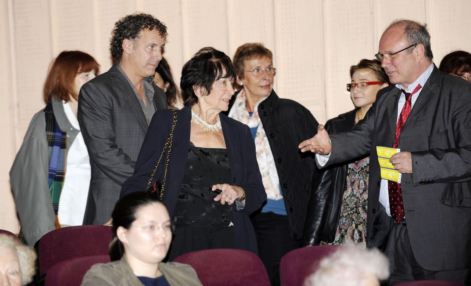 """Pokaz filmu """"Pianista"""" reż. Roman Polański 24. 09. 2011 Kino Luna Centrum Artystyczne fot.Andrzej Rybczyński"""