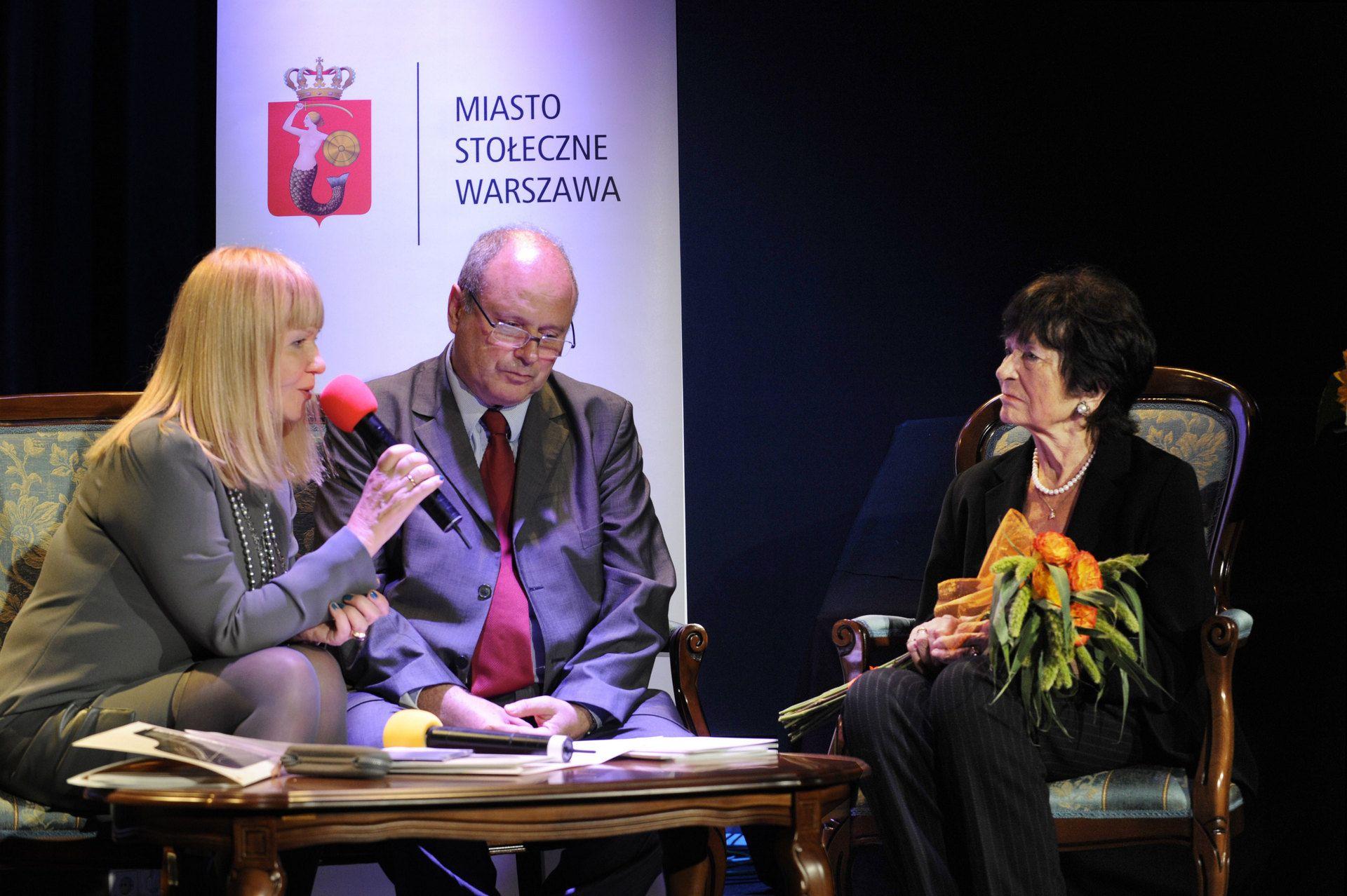 WŁADYSŁAW SZPILMAN W RADIO 22.09.2011 Studio Muzyczne im. A. Osieckiej fot.A. Rybczyński